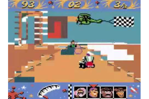 ROM corruption - Toy Story Racer (Game Boy Color) - YouTube