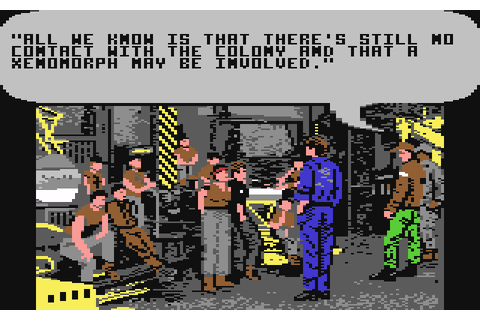 Aliens: The Computer Game (1986) C64 game