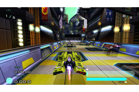 WipEout Pulse PS2 - Basilico - YouTube
