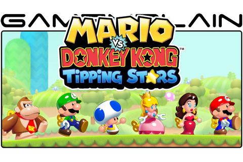 Mario vs. DK: Tipping Stars - Title-Screen, Story Opening ...