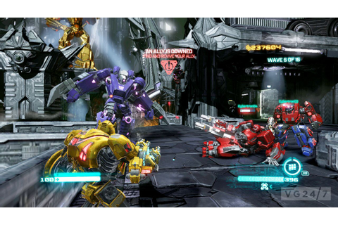 Activision goes screenshot mental with Transformers: Fall ...