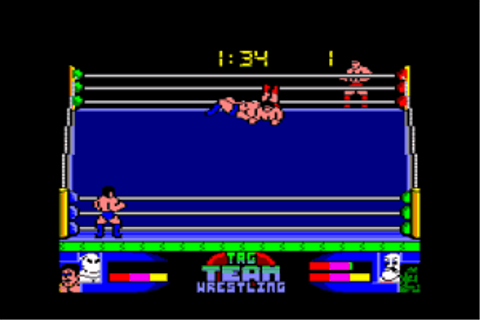 Download American Tag-Team Wrestling (Amiga) - My Abandonware