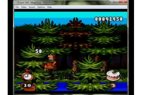 Yogi Bear's Cartoon Capers - Mega drive / Genesis Longplay ...