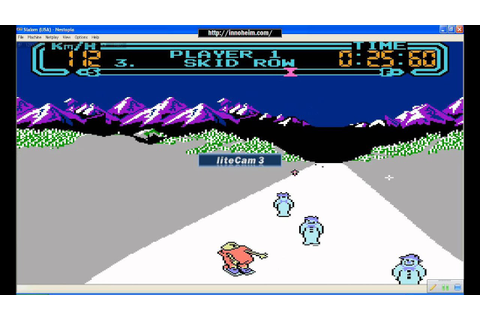 Classic games that Define Winter: Slalom (NES) - YouTube