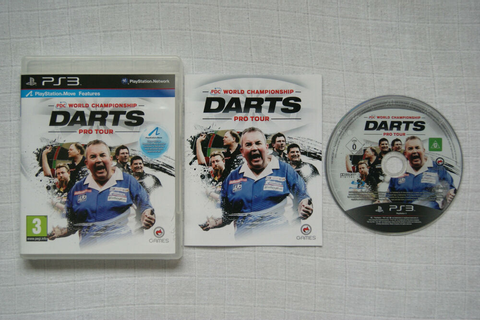 PDC World Championship Darts Pro Tour PS3 Game -1st Class ...