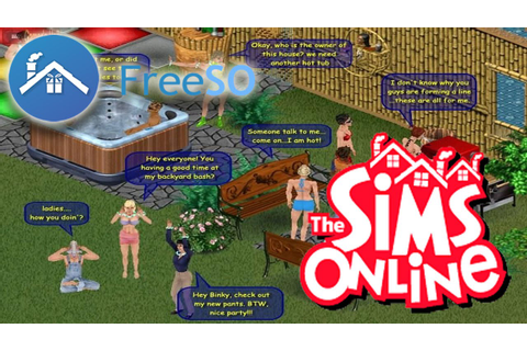 FreeSO/The Sims Online vídeo 1 - YouTube