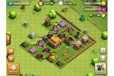How to start a clan war in Clash of Clans on iOS and ...