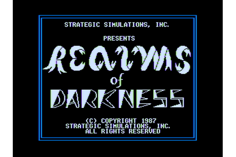 Download Realms of Darkness (Apple II) - My Abandonware
