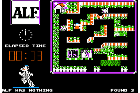 ALF: The First Adventure (1987) Apple II E game