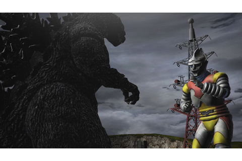 Godzilla game details Hedorah, Jet Jaguar, and ...