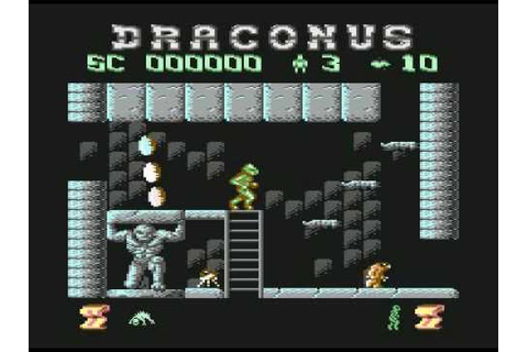 Draconus c64 title tune - YouTube