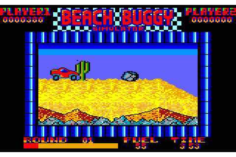Beach Buggy Simulator (1987) by Sysoft Amstrad CPC game