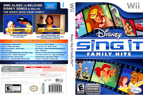 SDFE4Q - Disney Sing It: Family Hits