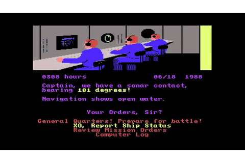 Red Storm Rising - Commodore 64 - YouTube