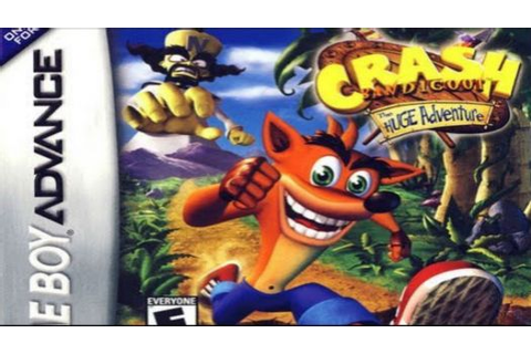 Crash Bandicoot XS (Paracox) ROM Download for GBA | Gamulator
