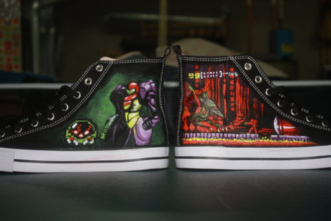 shoes, metroid, nintendo, games, video games, sneakers ...