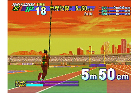 DecAthlete Sega Saturn | Japan | GS-9096 | デカスリート | Game ...