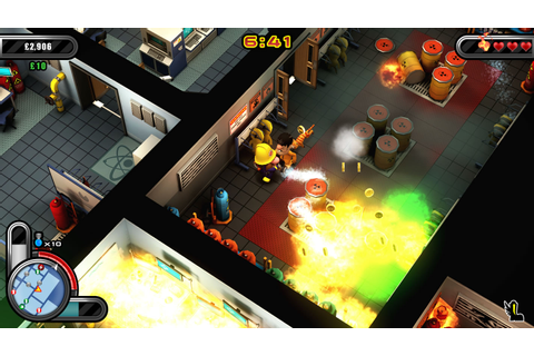 Flame Over - Fire-fighting Game on PS Vita, PS4 and Steam ...