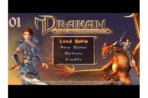 Drakan: The Ancients' Gates PS2 Playthrough 01 - YouTube