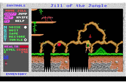 Download Jill of the Jungle action for DOS (1992 ...
