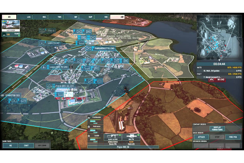 Wargame: AirLand Battle Gameplay Review - YouTube