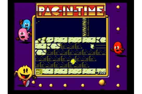 Pac-in-time gameplay, Game Boy - YouTube