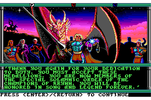 The CRPG Addict: Champions of Krynn: Won!