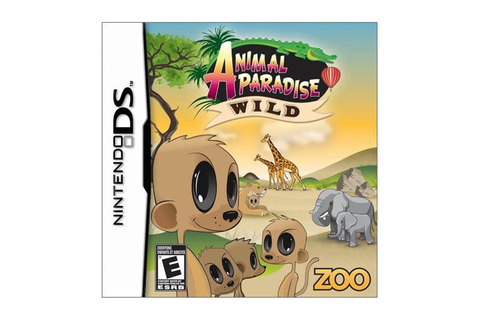 Animal Paradise Wild Nintendo DS Game-Newegg.com