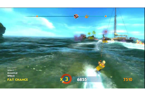 Wakeboarding HD (PS3) Mission Gameplay #1 - YouTube