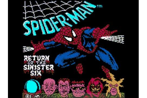 Spider Man Return of the Sinister Six LongPlay (NES) - YouTube