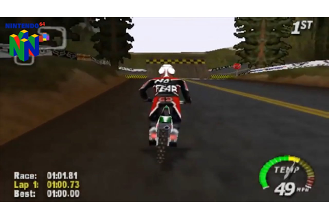 Excitebike 64 (Nintendo 64 Gameplay) - YouTube
