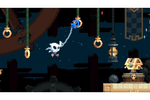 First gameplay from Flinthook, a grappling hook rogue-lite ...