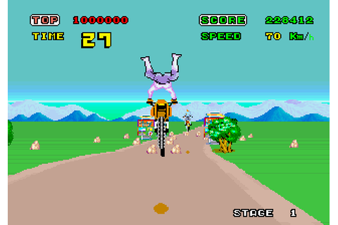 Enduro Racer | Top 80's Games