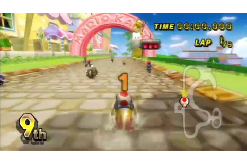 BEST Wii GAMES - Mario Kart Wii - YouTube