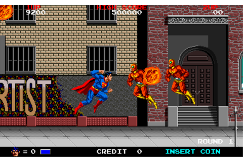 Internet Arcade: Superman : Taito Corporation : Free ...