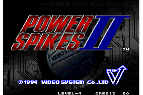 Play Power Spikes II SNK NEO GEO online | Play retro games ...