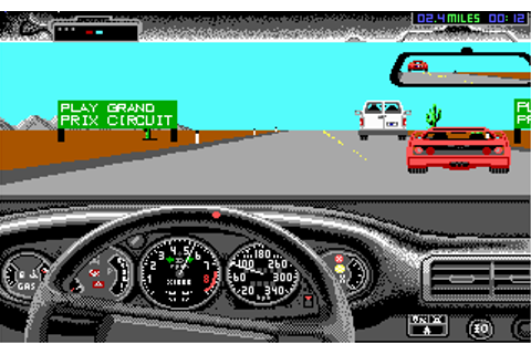 The Duel: Test Drive II Screenshots for DOS - MobyGames