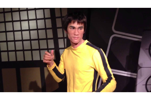 Bruce Lee Game of Death Real wax figure - YouTube
