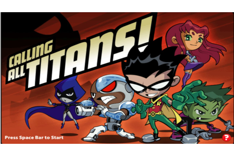 Cartoon Network Games: Teen Titans Go! - Calling All ...
