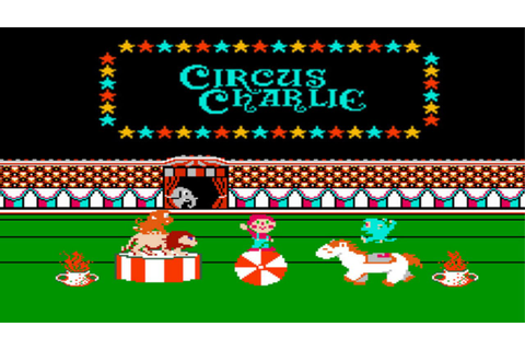 CIRCUS CHARLIE nes game . maldita sea trapecios DX - YouTube