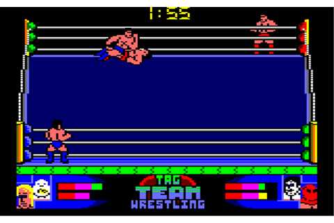 American Tag Team Wrestling (1992) by Zeppelin Amstrad CPC ...