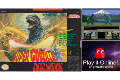 Play Super Godzilla on Super Nintendo