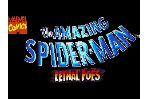 SNES The Amazing Spider Man Lethal Foes Password Stage ...