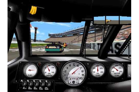 1999 Edition NASCAR Racing PC game play. Texas - YouTube