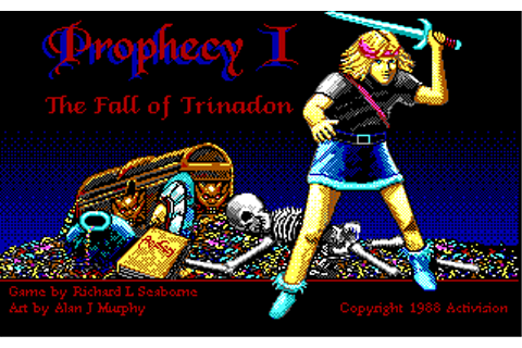 The CRPG Addict: Game 97: Prophecy I: The Fall of Trinadon ...