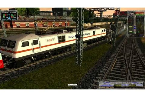 MSTS Train Simulator Andhra Pradesh express Indian ...