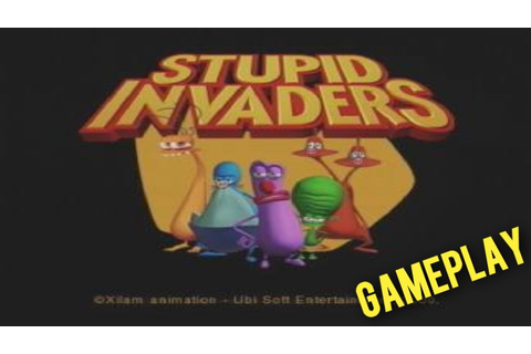 Stupid Invaders - Dreamcast Gameplay - YouTube