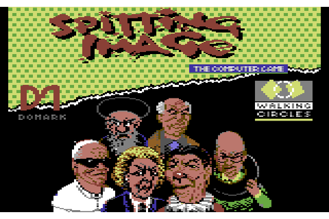 Spitting Image (1989) by Walking Circles C64 game