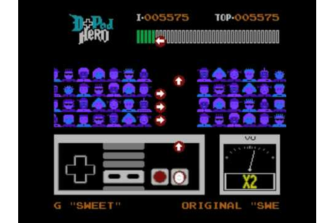 "First Ever Video of The NES Game ""D-Pad Hero"" - YouTube"