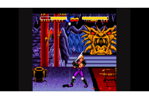 Double Dragon V (5): The Shadow Falls SNES & Sega Genesis ...